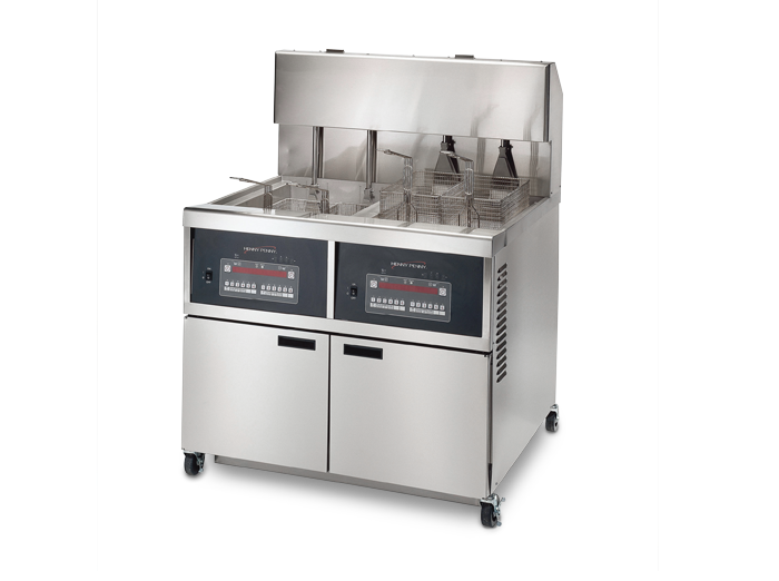340 Series Large Capacity Open Fryers Henny Penny
