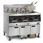 Evolution Elite EEE 143 three-well electric fryer