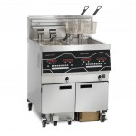 Evolution Elite EEE 142 two-well electric fryer