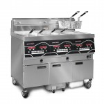 Evolution Elite EEG 243 three-well gas fryer - gallery