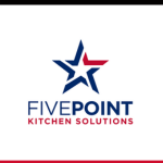Five point kitchen solutions logo